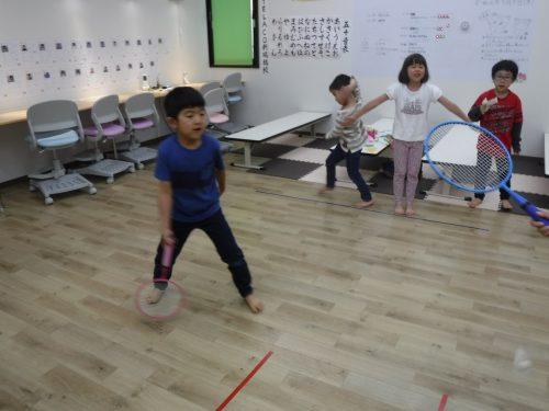 アフタースクール(学童)で運動 室内でも体育
